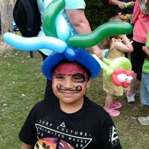 Balloon Twisted Hat