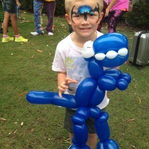 Balloons at Nickelodeon fun day