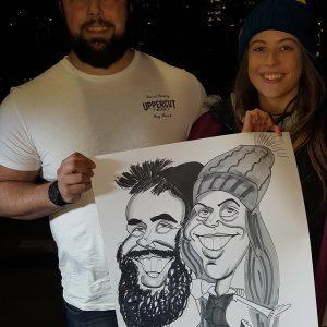Couple with beard