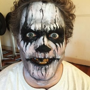 Death Halloween makeup