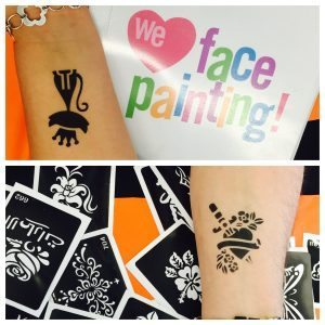Kids airbrush tattoos