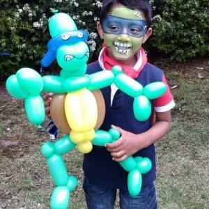 Ninja Turtle Balloon Design