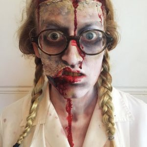 Scary Zombie Special effects makeup