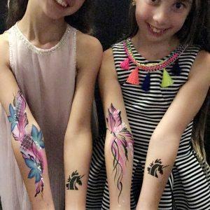 Temp tattoos 3