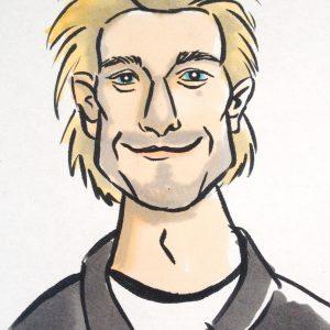 guy caricature