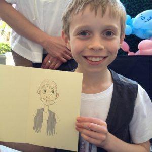 personalised caricature