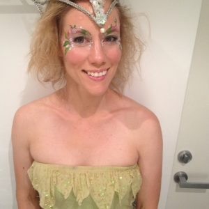 Adult fun fairy face painting