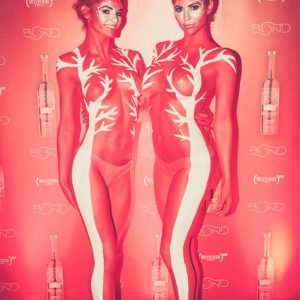 Body Painting Melbourne Belvedere Vodka