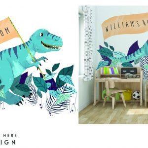 Dinsaur- Mural Design
