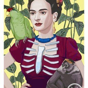 Frida- yello small copy