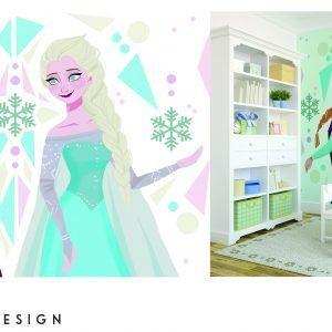 Snow Queen- mural design copy