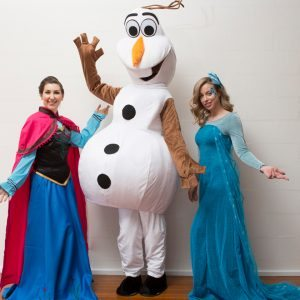 Frozen-Party-Characters