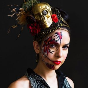 Fascinator Skull designs