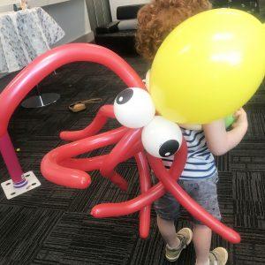 Balloons octapus