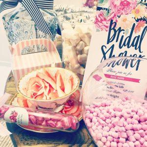 Bridal Shower candy bar