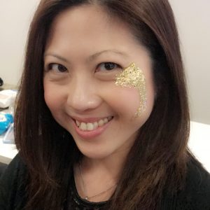 Glitter eye design
