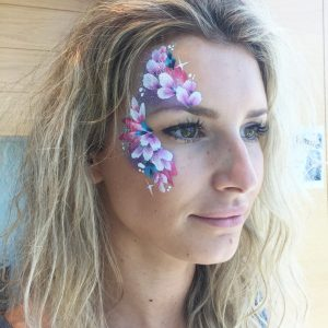 Gorgeous face paint