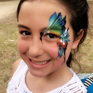 Kids Arty face paint
