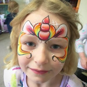 Unicorn Kids face painting
