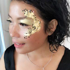 Glitz and Glam glitter art