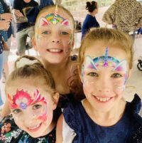 Fairy Bling Face Painting